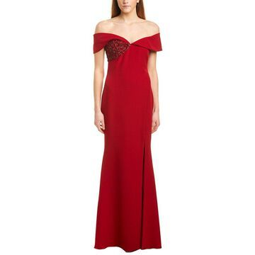 Badgley Mischka Womens Gown