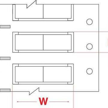 BRADY 3PS-187-2-WT-S-2 Write On White Wire Marker Sleeves, PermaSleeve(R)