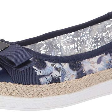 Soft Style Womens Fagan Closed Toe Espadrille Flats