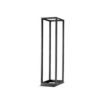 Panduit4 Post Rack System - Rack - black - 52U - 19