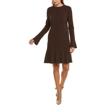 Piazza Sempione Wool-Blend Mini Dress