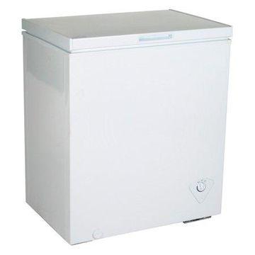 Koolatron KTCF155 5.5 Cubic Foot (155 Liters) Chest Freezer with Adjustable Thermostat