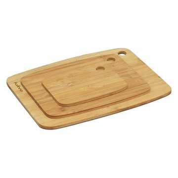 Furinno Dapur Bamboo Cutting Board, Set Of 3