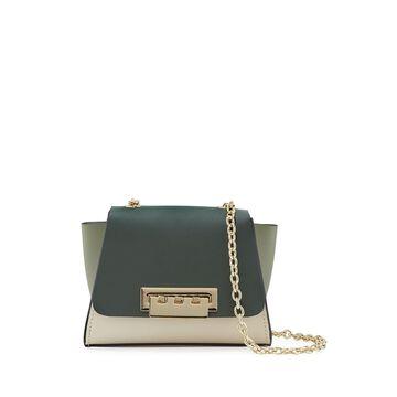 Eartha Mini Colorblock Leather Chain Crossbody Bag