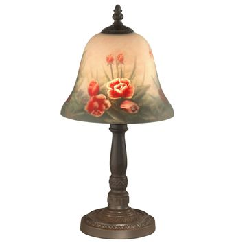 Dale Tiffany Rose Bell Accent Lamp