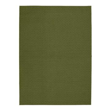 Garland Rug Town Square Solid Area Rug, Green, 6X9 Ft