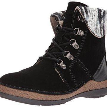 Propet Women's Dayna Ankle Bootie, Black, 6 W US
