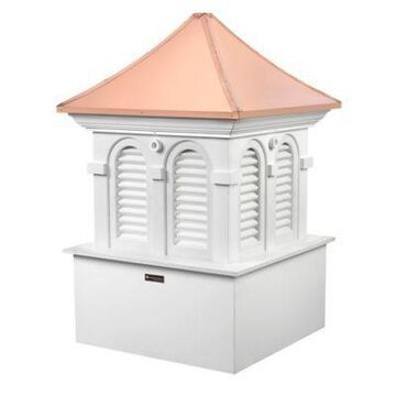 Good Directions Smithsonian Collection Alexandria 73-Inch Cupola in White/Copper