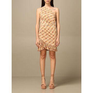 Elisabetta Franchi Dress Elisabetta Franchi Short Dress With All-over Pattern