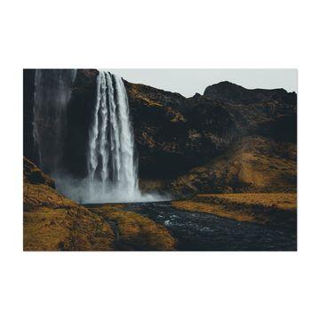 Noir Gallery Seljalandsfoss Waterfall Iceland Unframed Art Print/Poster