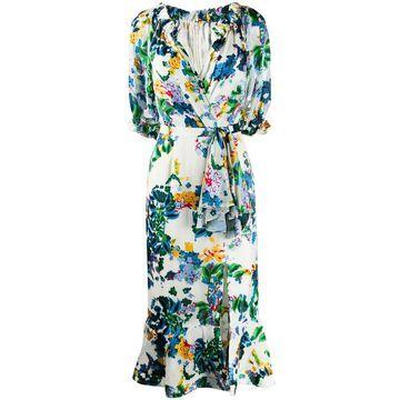 printed Olivia midi dress