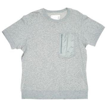 Sacai Grey Cotton T-shirts