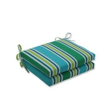 Pillow Perfect Aruba Squared Corners Seat Cushion, Set of 2