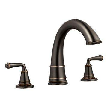 Design House 524611 Eden Roman Tub Faucet, Oil Rubbed Bronze