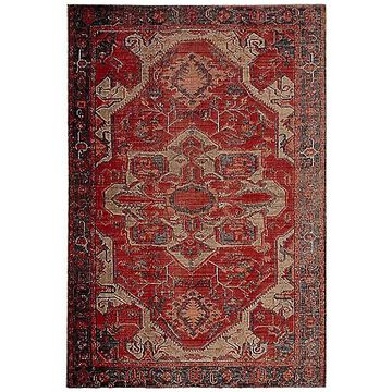 Jaipur Leighton Indoor / Outdoor Area Rug - Color: Red - Size: 7 ft 6