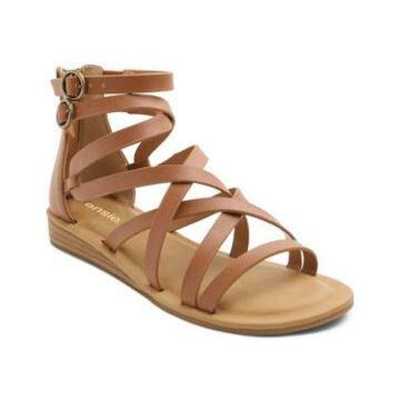 kensie Women's Lanica Woven Ankle Sandal Women's Shoes