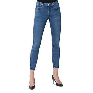 3x1 Sophie Cropped Skinny Jeans in Miles