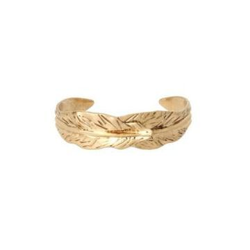 Robert Lee Morris Soho Women's Leaf Cuff Bracelet