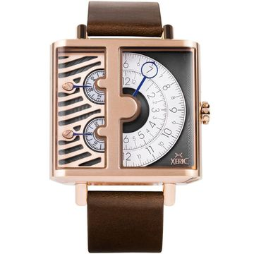 NEW Xeric Soloscope SQ Rose Gold Brown | AUTHORIZED DEALER