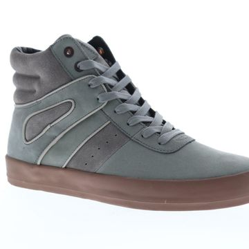 Creative Recreation Moretti Grey Brown Mens High Top Sneakers