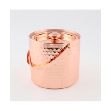 Thirstystone by Cambridge Copper Faceted Double Wall Ice Bucket