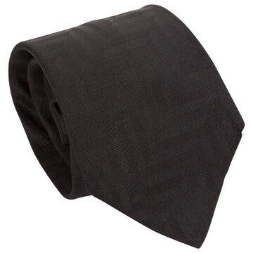 Emporio Armani Black Silk Ties