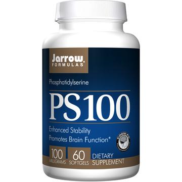 PS-100 (Phosphatidylserine) 100mg Jarrow Formulas 60 Softgel