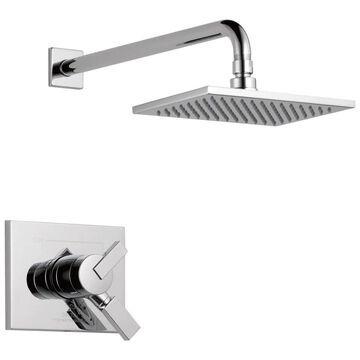 Delta Vero Chrome 1-Handle Shower Faucet (Valve Not Included) Rubber | T17253-WE