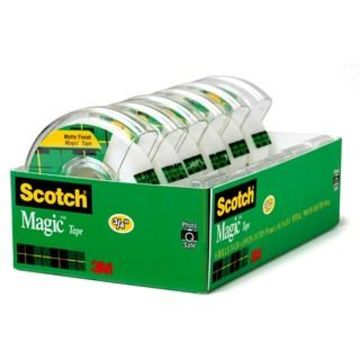 Scotch Magic Tape, Pack of 6