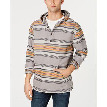 Men's Serape Stripe Hoodie Popover