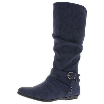 Cliffs by White Mountain Womens Fairfield Riding Boots Buckle