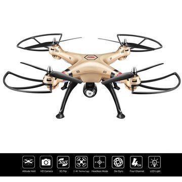 Syma X8HC 2.4G 4CH 6-Axis Gyro RC Quadcopter Drone 2MP HD Camera Christmas Gift