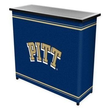 NCAA University of Pittsburgh Portable Bar with Case