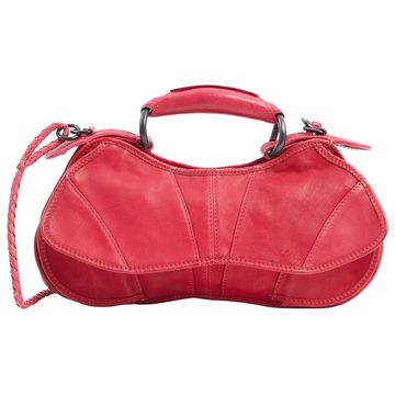 Costume National Red Leather Handbags