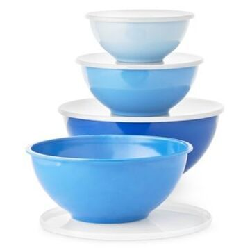 Martha Stewart Collection 8-Pc. Melamine Bowl & Lid Set, Created for Macy's