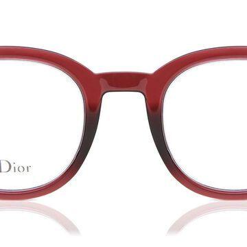 Dior DIOR CD 2 LHF Womenas Glasses Burgundy Size 46 - Free Lenses - HSA/FSA Insurance - Blue Light Block Available