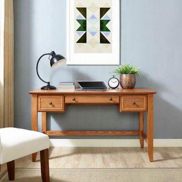 Crosley Furniture Campbell Desk in Oak