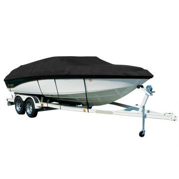 Covermate Sharkskin Plus Exact-Fit Cover for Seaswirl Tempo 17 Tempo 17 I/O. Black