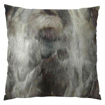 Plutus Brand Ash Handmade Throw Pillow, Single Sided, 22x22