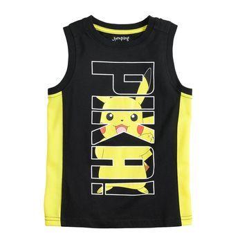 Boys 4-12 Jumping Beans Pikachu Tank