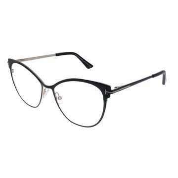 Tom Ford FT 5530-B 001 Womens Black Frame Eyeglasses 54mm