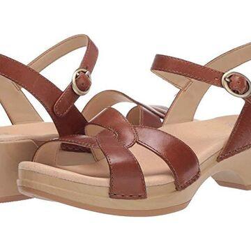 Dansko Karmen (Tan Burnished Calf) Women's Shoes