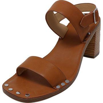 Jil Sander Navy Women's Jasy Leather Ankle-High Heel