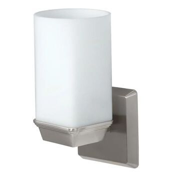 Gatco GC1671 Single Light Bath Sconce from the Philadelphia Series Satin Nickel Indoor Lighting Wall Sconces Single