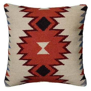 Rizzy Home Tribal Throw Pillow