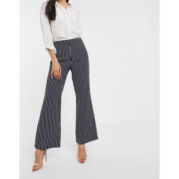 Vila stripe pants-Multi