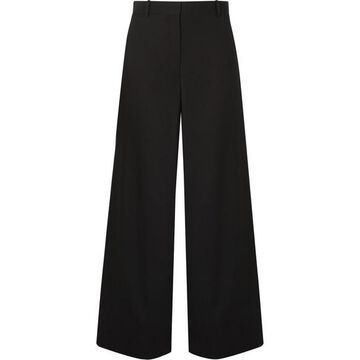 The Row - Nick Wool Pants - Black