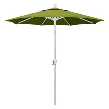 California Umbrella 7.5' Market Patio Umbrella With Push Tilt, Kiwi