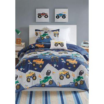 Jla Home Nash Monster Truck Comforter Set - -