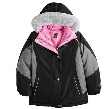 Girls 4-16 ZeroXposur Brigid Systems 3-In-1 Jacket, Girl's, Size: 10-12, Oxford